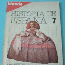 Coleccionismo de Revista Historia 16: HISTORIA 16. HISTORIA DE ESPAÑA. Nº 7. OCTUBRE 1981. Lote 28605059