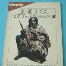Coleccionismo de Revista Historia 16: HISTORIA 16. HISTORIA UNIVERSAL. SIGLO XX. Nº 3. Lote 28605165