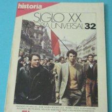 Coleccionismo de Revista Historia 16: HISTORIA 16. HISTORIA UNIVERSAL. SIGLO XX. Nº 32. Lote 28605451
