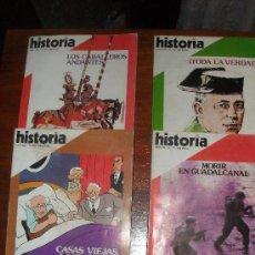 Coleccionismo de Revista Historia 16: LOTE 4 REVISTAS - HISTORIA 16 NºS 77 (SEP. 1982) -82 (FEB. 1983) 83 (MAR. 1983) 92 (DIC. 1983). Lote 29839464
