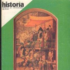 Coleccionismo de Revista Historia 16: REVISTA HISTORIA 16, 10º ANIVERSARIO - LA INQUISICION. Lote 30511048