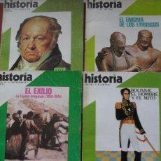 Coleccionismo de Revista Historia 16: LOTE 4 REVISTAS - HISTORIA 16, NºS 19, 28, 40 Y 87. Lote 30511632