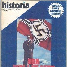 Coleccionismo de Revista Historia 16: HISTORIA 16 Nº. 1. Lote 30855710