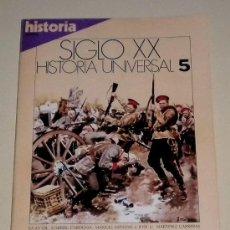 Coleccionismo de Revista Historia 16: HISTORIA 16 REVISTA SIGLO XX HISTORIA UNIVERSAL Nº 5 LA GRAN GUERRA. Lote 30904285