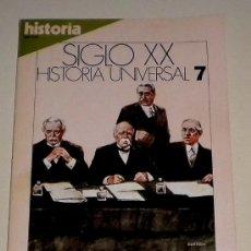 Coleccionismo de Revista Historia 16: HISTORIA 16 REVISTA SIGLO XX HISTORIA UNIVERSAL Nº 7 LOS PROBLEMAS DE LA PAZ. Lote 30904315