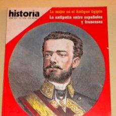 Coleccionismo de Revista Historia 16: HISTORIA 16 Nº 174 - AMADEO DE SABOYA EL REY EFIMERO - ANTIPATIA ENTRE ESPAÑOLES Y FRANCESES. Lote 30927975