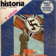 Coleccionismo de Revista Historia 16: LOTE 11 REVISTA HISTORIA 16.INCLUYE EL NÚMERO 1.VER DETALLES E IMÁGENES.HITLER.PRIMO DE RIVERA.. Lote 32611459