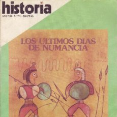 Coleccionismo de Revista Historia 16: REVISTA HISTORIA 16 - Nº 71. Lote 32684223
