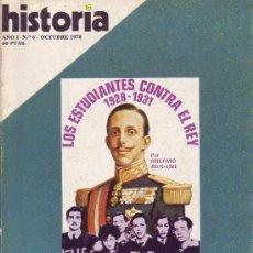 Coleccionismo de Revista Historia 16: REVISTA HISTORIA 16 - Nº 6. Lote 107569187