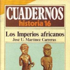 Coleccionismo de Revista Historia 16: CUADERNOS HISTORIA 16 - NÚMERO 274: LOS IMPERIOS AFRICANOS. Lote 32811010