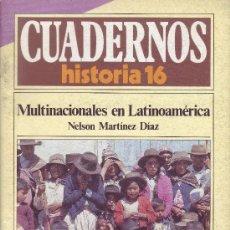 Coleccionismo de Revista Historia 16: CUADERNOS HISTORIA 16 - NÚMERO 107: MULTINACIONALES EN LATINOAMÉRICA. Lote 32811633