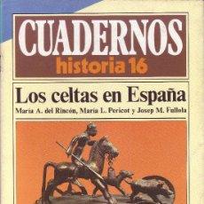 Coleccionismo de Revista Historia 16: CUADERNOS HISTORIA 16 - NÚMERO 20: LOS CELTAS EN ESPAÑA. Lote 32813108