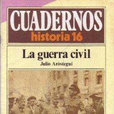 Coleccionismo de Revista Historia 16: CUADERNOS HISTORIA 16 - NÚMERO 2: LA GUERRA CIVIL. Lote 32813358