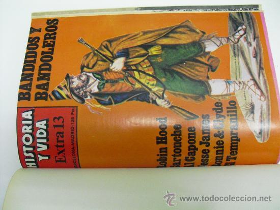Coleccionismo de Revista Historia 16: 1978 CUATRO NUMEROS EXTRA (DEL 13 AL 16) DE LA REVISTA HISTORIA Y VIDA - Foto 2 - 33714031
