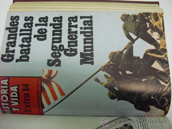 Coleccionismo de Revista Historia 16: 1978 CUATRO NUMEROS EXTRA (DEL 13 AL 16) DE LA REVISTA HISTORIA Y VIDA - Foto 3 - 33714031