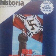 Coleccionismo de Revista Historia 16: HISTORIA 16. AÑO I. Nº 1. MAYO 1976. BERLÍN: SALVAD A JOSÉ ANTONIO. FALANGE. LOS ÍBEROS. Lote 35967907