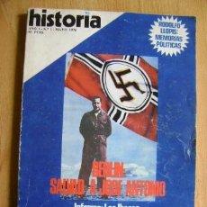 Coleccionismo de Revista Historia 16: HISTORIA 16. AÑO I. Nº 1. MAYO 1976. BERLÍN: SALVAD A JOSÉ ANTONIO. FALANGE. LOS ÍBEROS. Lote 37727542