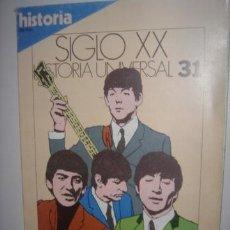 Coleccionismo de Revista Historia 16: REVISTA HISTORIA 16 PORTADA DE LOS BEATLES Y 2 PG 1 FT VER FOTO ADICIONAL. Lote 37753799