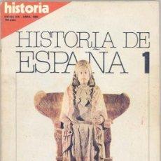 Coleccionismo de Revista Historia 16: HISTORIA DE ESPAÑA, COMPLETA, 13 NUMEROS - HISTORIA 16. Lote 38033733