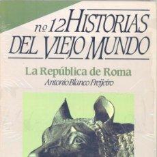 Coleccionismo de Revista Historia 16: HISTORIAS DEL VIEJO MUNDO - HISTORIA 16 - Nº.12. Lote 38047220