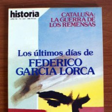 Coleccionismo de Revista Historia 16: HISTORIA 16. Nº 123. CATALUÑA – FEDERICO GARCÍA LORCA. Lote 38173833