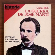 Coleccionismo de Revista Historia 16: HISTORIA 16. Nº 131. CUBA – RECAREDO. Lote 38173897