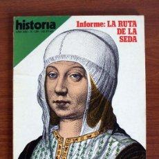 Coleccionismo de Revista Historia 16: HISTORIA 16. Nº 150. RUTA DE LA SEDA – ISABEL DE CASTILLA. Lote 38173962