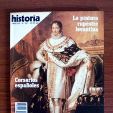 Coleccionismo de Revista Historia 16: HISTORIA 16. Nº 147. PINTURA RUPESTRE LEVANTINA – CORSARIOS ESPAÑOLES – JOSÉ BONAPARTE. Lote 38174002