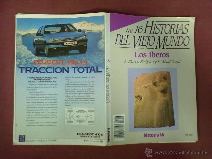 A. BLANCO FREIJEIRO Y L. ABAD CASAL LOS IBEROS (Coleccionismo - Revistas y Periódicos Modernos (a partir de 1.940) - Revista Historia 16)