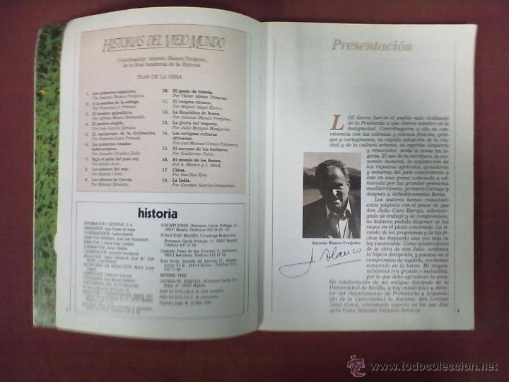 Coleccionismo de Revista Historia 16: A. BLANCO FREIJEIRO Y L. ABAD CASAL LOS IBEROS - Foto 2 - 39758479
