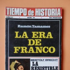 Coleccionismo de Revista Historia 16: TIEMPO DE HISTORIA. LA ERA DE FRANCO. AÑO II. NÚM. 14 - DIVERSOS AUTORES. Lote 36670781
