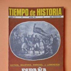 Coleccionismo de Revista Historia 16: TIEMPO DE HISTORIA. ESPAÑA, DEL PASADO AL FUTURO. AÑO II. NÚM. 21 - DIVERSOS AUTORES. Lote 36670787