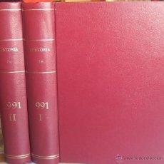 Coleccionismo de Revista Historia 16: REVISTA HISTORIA 16 ENCUADERNADA, AÑO 1991 (TOMOS I Y II - Nº 177 A 188).. Lote 40603488