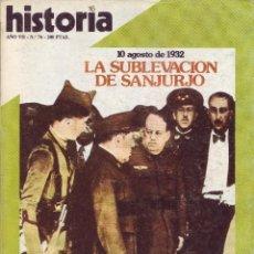 Coleccionismo de Revista Historia 16: REVISTA HISTORIA 16 - Nº 76. Lote 40834491