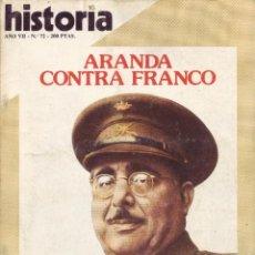 Coleccionismo de Revista Historia 16: REVISTA HISTORIA 16 - Nº 72. Lote 40834610