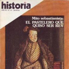Coleccionismo de Revista Historia 16: REVISTA HISTORIA 16 - Nº 67. Lote 40834774