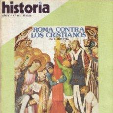 Coleccionismo de Revista Historia 16: REVISTA HISTORIA 16 - Nº 66. Lote 40834848