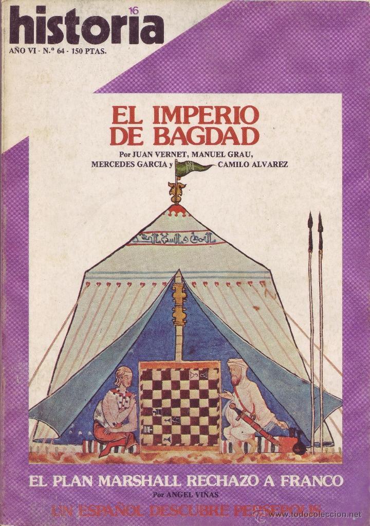 REVISTA HISTORIA 16 - Nº 64 (Coleccionismo - Revistas y Periódicos Modernos (a partir de 1.940) - Revista Historia 16)