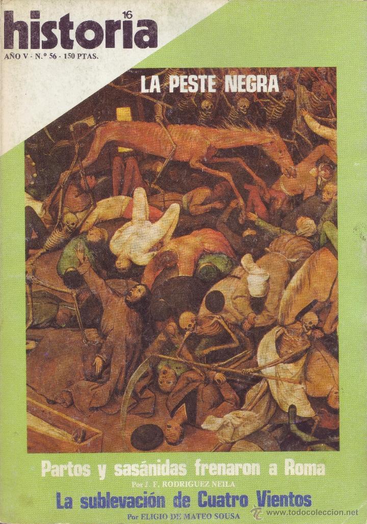 REVISTA HISTORIA 16 - Nº 56 (Coleccionismo - Revistas y Periódicos Modernos (a partir de 1.940) - Revista Historia 16)