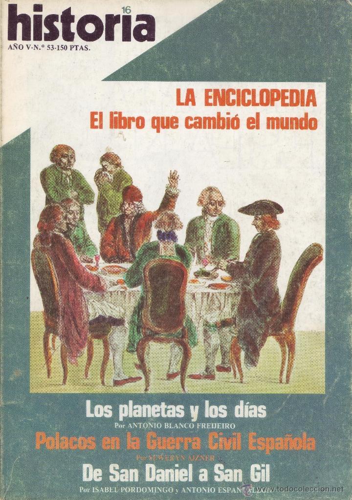 REVISTA HISTORIA 16 - Nº 53 (Coleccionismo - Revistas y Periódicos Modernos (a partir de 1.940) - Revista Historia 16)