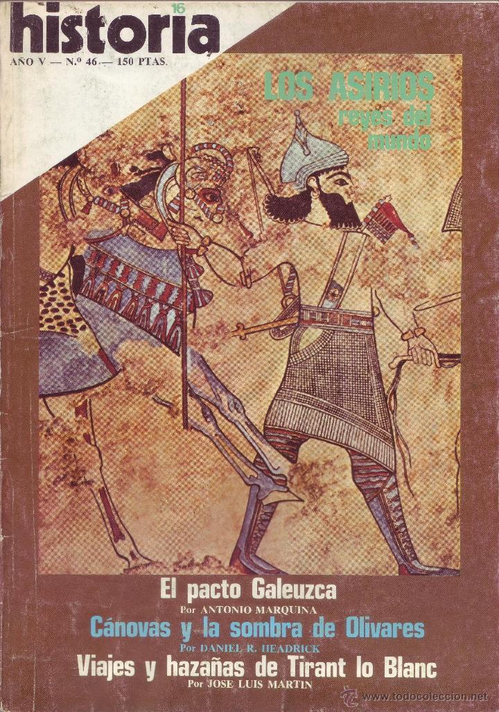 REVISTA HISTORIA 16 - Nº 46 (Coleccionismo - Revistas y Periódicos Modernos (a partir de 1.940) - Revista Historia 16)