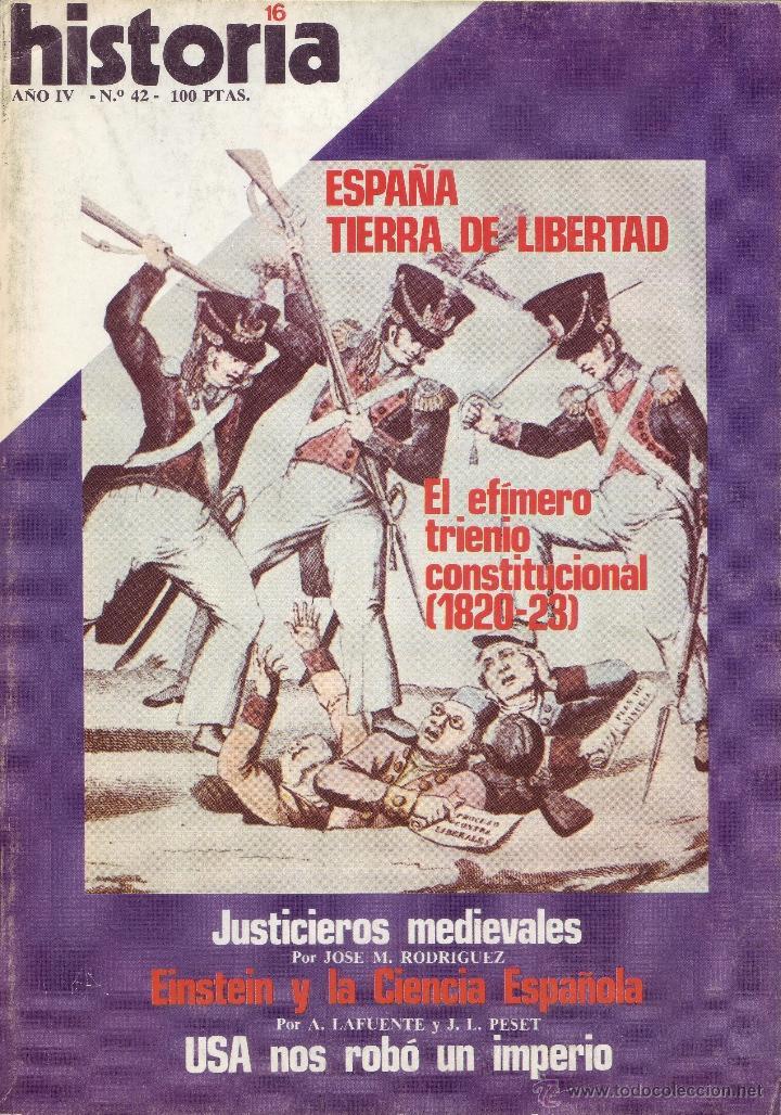 REVISTA HISTORIA 16 - Nº 42 (Coleccionismo - Revistas y Periódicos Modernos (a partir de 1.940) - Revista Historia 16)