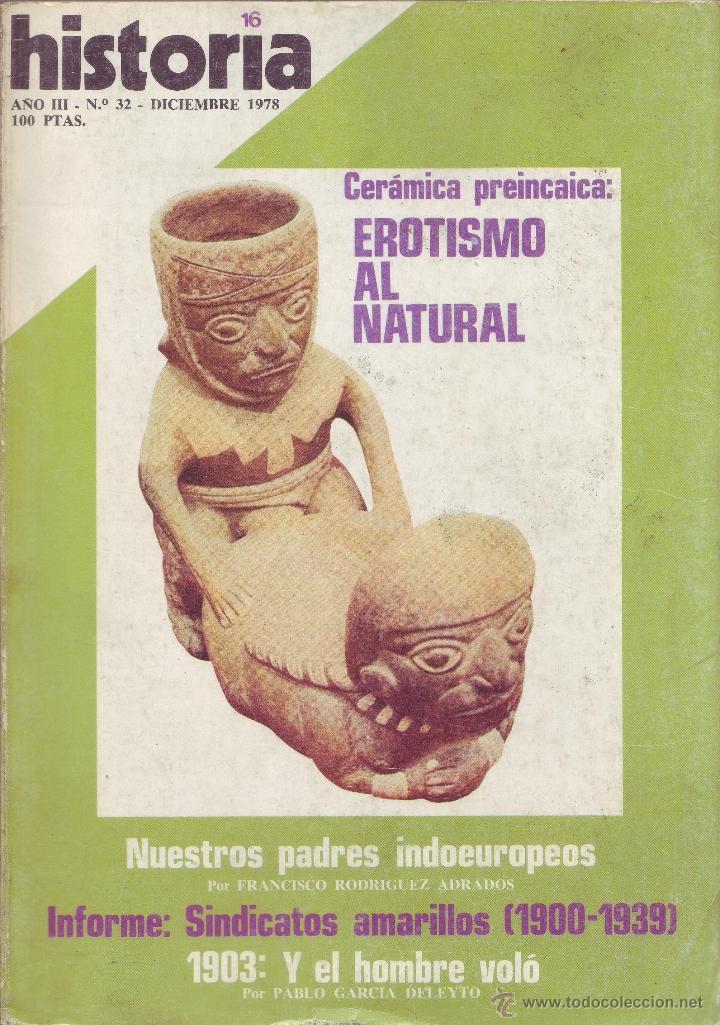 REVISTA HISTORIA 16 - Nº 32 (Coleccionismo - Revistas y Periódicos Modernos (a partir de 1.940) - Revista Historia 16)