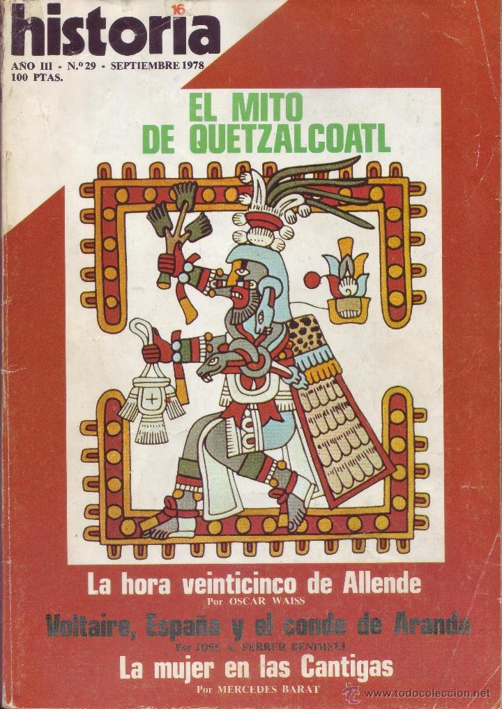 REVISTA HISTORIA 16 - Nº 29 (Coleccionismo - Revistas y Periódicos Modernos (a partir de 1.940) - Revista Historia 16)