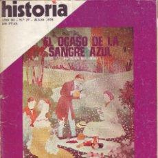 Coleccionismo de Revista Historia 16: REVISTA HISTORIA 16 - Nº 27. Lote 107569104