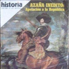 "Coleccionismo de Revista Historia 16: REVISTA ""HISTORIA 16"" (Nº 137–SEPTIEMBRE 1987). OLIVARES, HISTORIA DE UNA AMBICIÓN. Lote 41131224"