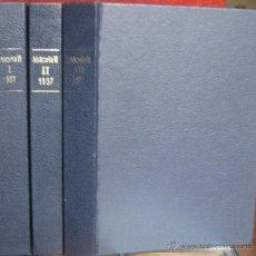 "Coleccionismo de Revista Historia 16: REVISTA ""HISTORIA 16"" ENCUADERNADA, AÑO 1997 (3 TOMOS - Nº 249 A 260).. Lote 41350589"