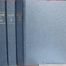 "Coleccionismo de Revista Historia 16: REVISTA ""HISTORIA 16"" ENCUADERNADA, AÑO 1990 (3 TOMOS - Nº 165 A 176).. Lote 41351285"
