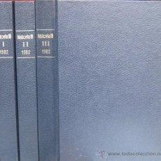 "Coleccionismo de Revista Historia 16: REVISTA ""HISTORIA 16"" ENCUADERNADA, AÑO 1982 (3 TOMOS - Nº 69 A 80).. Lote 41504656"