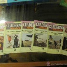 Coleccionismo de Revista Historia 16: M69 LOTE DE CUADERNOS HISTORIA 16 NUMEROS 57 71 72 73 74 75 SOBRE HITLER SEGUNDA GUERRA MUNDIAL.... Lote 42048106